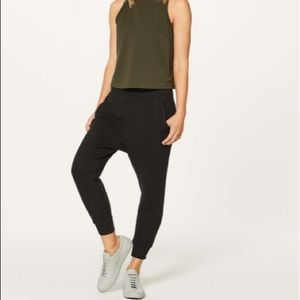 NEW • Lululemon • Press Pause Jogger Pant Black 6